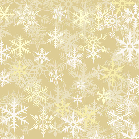 december holidays: Abstract snowflake Christmas background. Vector illustration