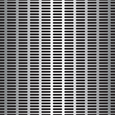grille: You can tile this seamlessly as a pattern to fit whatever size you need. Vector illustration Illustration