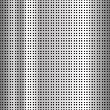 metal pattern: Seamless texture perforated pattern metal surface. Vector illustration