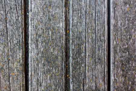 vertically: old wooden planks located vertically