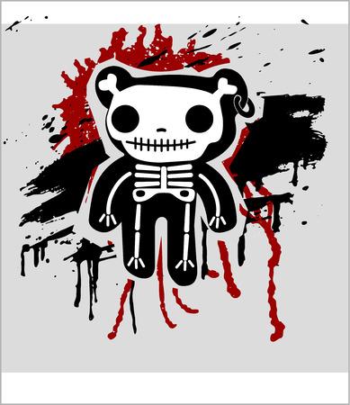 teddy bones Illustration