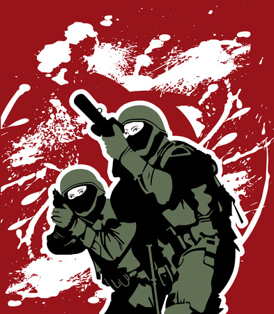 special forces: elite soldiers