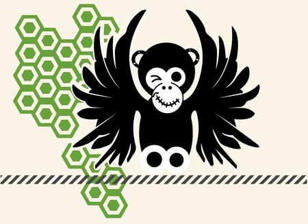 flying monkey: flying monkey