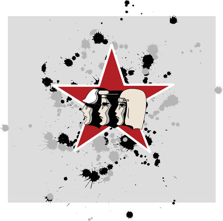 russian soldiers Stock Vector - 2567439