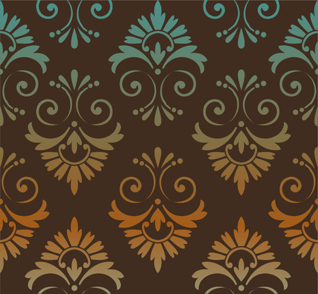 patchwork pattern: retro wallpaper