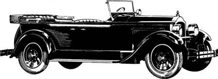 vintage car: old car