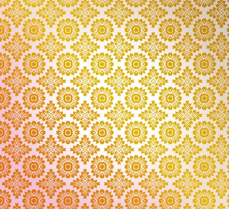 Retro wallpaper Stock Vector - 11783089