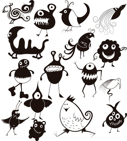 Monsters Vector