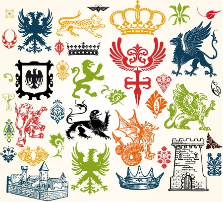 heraldry: Vintage designs
