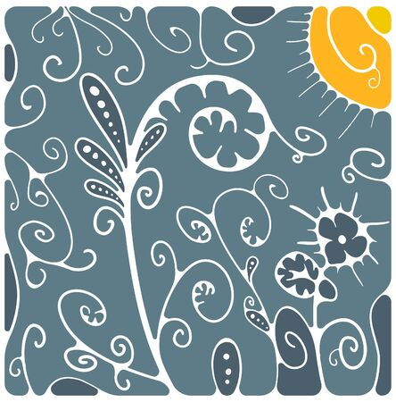 Floral background Stock Vector - 11782931