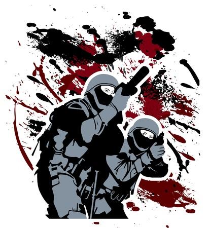 special service: Elite soldiers