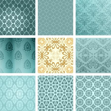 arabesque wallpaper: Sfondi retr� set