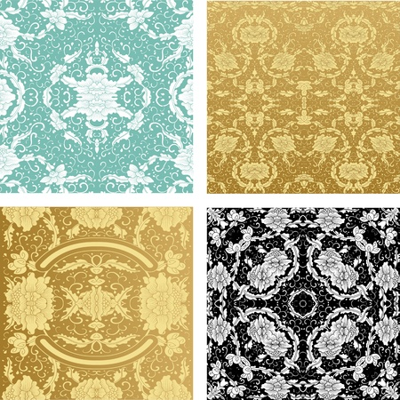 Ornamental backgrounds set Stock Vector - 11859039