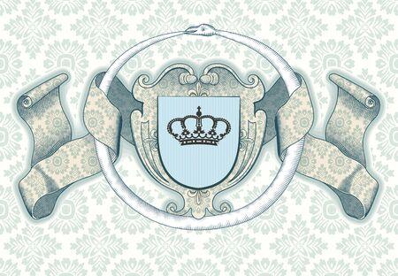 Königliche Hintergrund Standard-Bild - 11859029