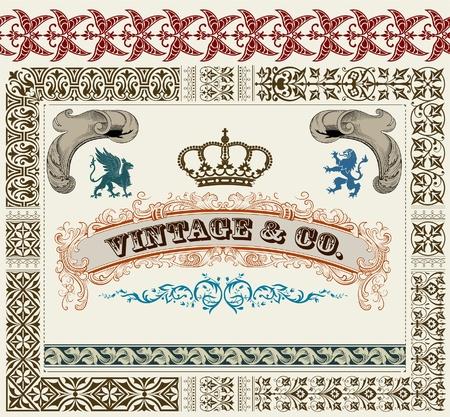 royal set Stock Vector - 11858750