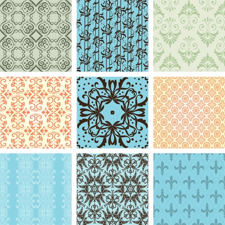 Seamless wallpaper Stock Vector - 11858613
