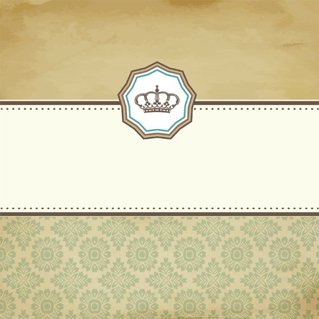 certificates: Baroque card