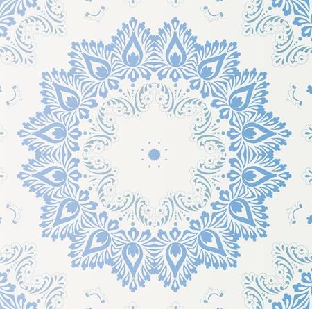 arabesque wallpaper: carta da parati retro Vettoriali
