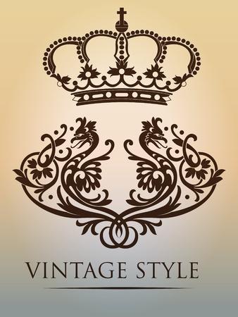 corona real: corona de la vendimia