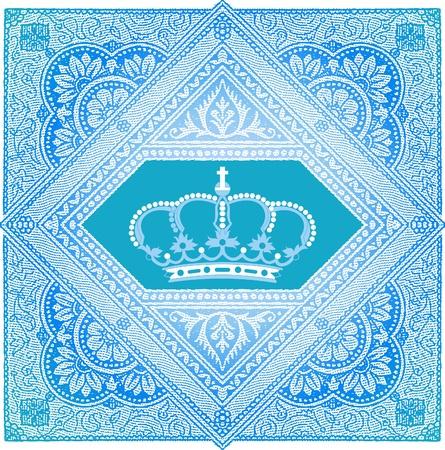 royal mail: retro stamp Illustration