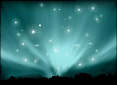 polar light: espacio de fondo