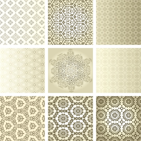 arabesque: retro de papel tapiz Vectores