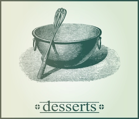 whisk: menu cover