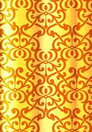retro wallpaper Stock Vector - 12035893
