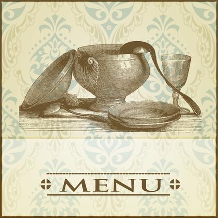 menu background Stock Vector - 12134349