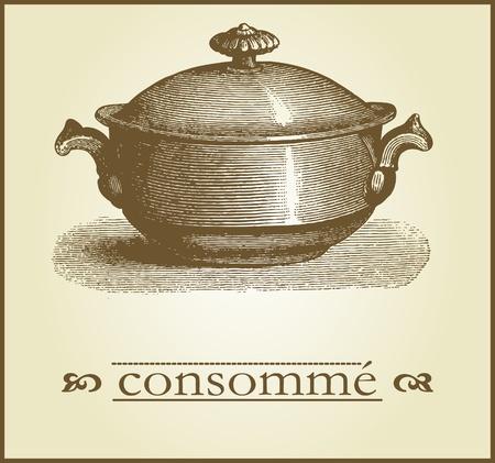 cookware: Men� de la cubierta