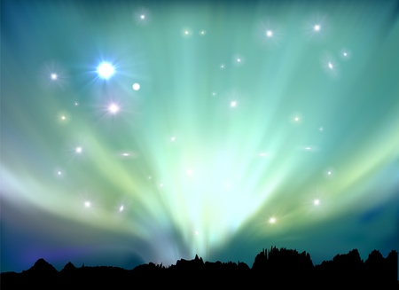 north star: aurora boreal