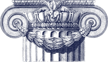 classic column Stock Vector - 12134375