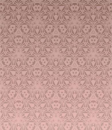 retro wallpaper Stock Vector - 12134358