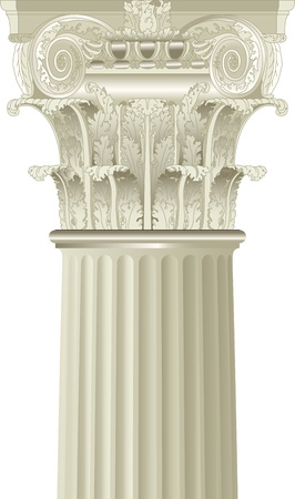 architectural detail: classic column