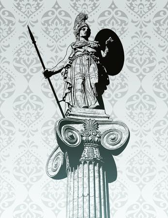 athena: Statue of Athena