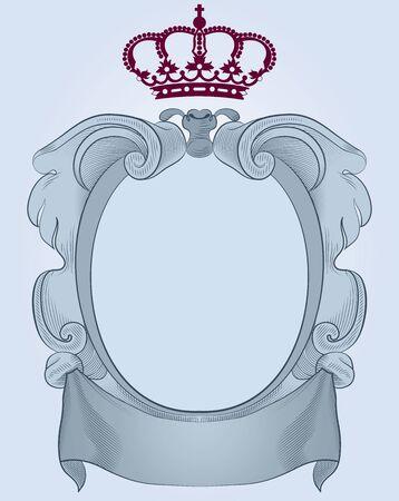beauty queen: escudo Illustration