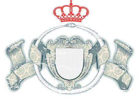 Königliche Schild Standard-Bild - 12901185