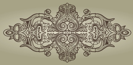 Ornament element Vector