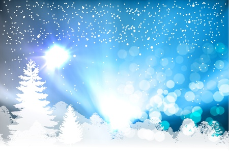 Christmas background Stock Vector - 13137035
