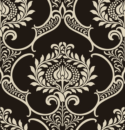 Damask wallpaper Stock Vector - 13188752