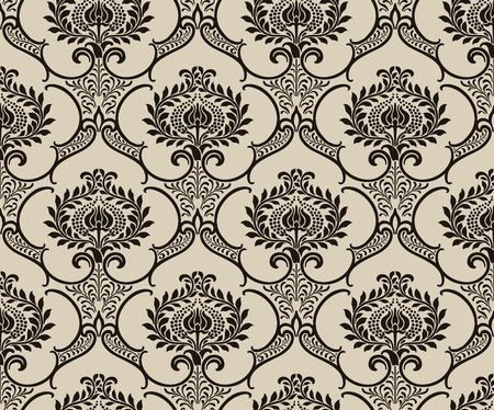 Damask wallpaper Stock Vector - 13188766