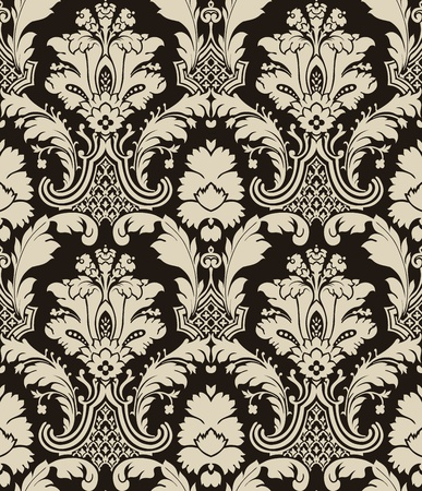 Damask pattern Stock Vector - 13188769