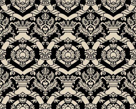 Damask pattern Stock Vector - 13219387