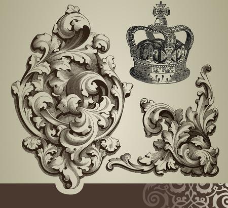 baroque: Adornos barrocos