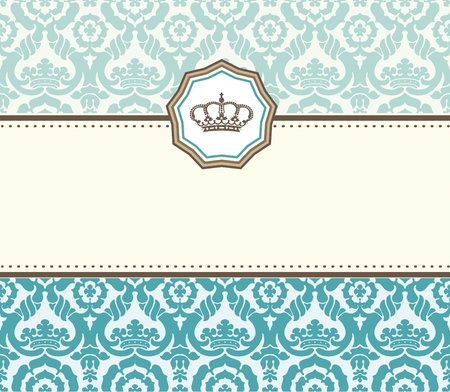 Old card Stock Vector - 13262146