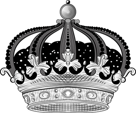 King crown Illustration