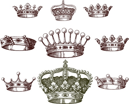 beauty queen: old crown set