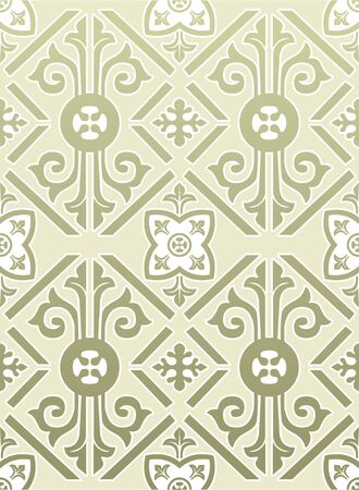retro wallpaper Stock Vector - 13757863