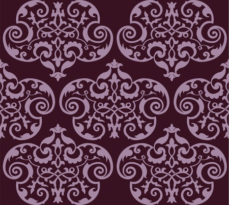 Seamless wallpaper Stock Vector - 13757896
