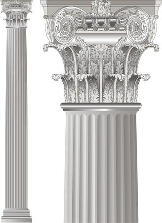 roman empire: set classic columns